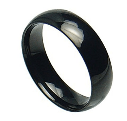 Stainless Steel Shiny Polished Black Plain Band Ring for only $0.01: Do You Really Need It? This Will Help You Decide!